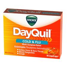 DAYQUIL NON DROWSY LIQUICAPS SOFTGELS 16pc