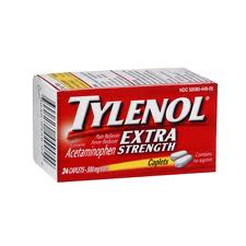 TYLENOL Xtra Strength Pain Relieverss 24 tab