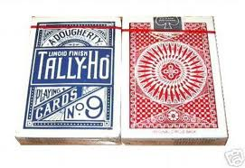 TALLY HO #9 Poker Playing Card